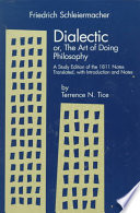 Dialectic, Or, The Art of Doing Philosophy