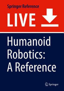 Humanoid Robotics  A Reference Book