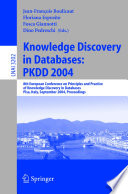 Knowledge Discovery in Databases  PKDD 2004