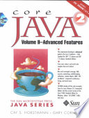 Core Java 2: Advanced features