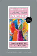 Best of the Best American Poetry