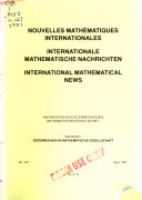 International Mathematical News Book