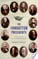 The Forgotten Presidents Book