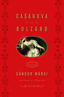 Casanova in Bolzano Pdf/ePub eBook