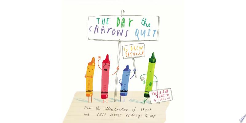 The Day the Crayons Quit banner backdrop