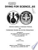 Diving for Science--1985