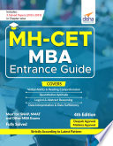 MH CET MBA Entrance Guide 4th Edition Book