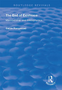 Pdf The End of Existence Telecharger