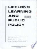 Lifelong Learning and Public Policy