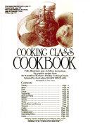 Cooking Class Cookbook