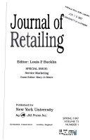 Journal Of Retailing
