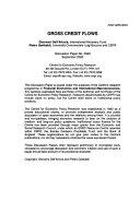 Gross Credit Flows