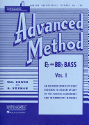 Rubank Advanced Method - E Flat Or BB Flat Bass