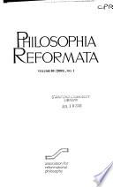 Philosophia reformata