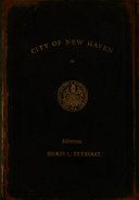 City Year Book for the City of New Haven