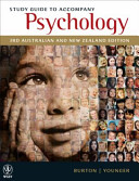 Study Guide to Accompany Psychology  3rd Australian   New Zealand Edition Book