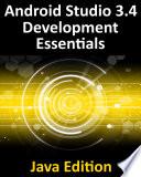 Android Studio 3.4 Development Essentials - Java Edition