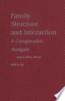 Family Structure and Interaction