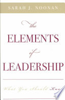 The Elements of Leadership