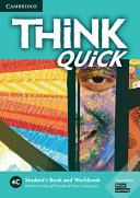 Think 4C Student s Book and Workbook Quick