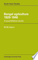 Bengal Agriculture 1920-1946