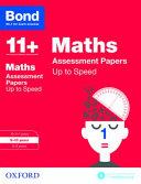 Bond 11   Maths  Up to Speed