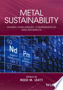 Metal Sustainability