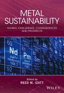 Metal Sustainability Pdf/ePub eBook