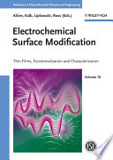 Electrochemical Surface Modification Book