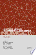 Numerical Methods in Geotechnical Engineering IX, Volume 2