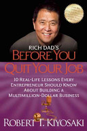 Rich Dad s Before You Quit Your Job