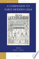 A Companion to Early Modern Lima
