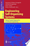 Engineering Self Organising Systems Book PDF