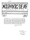 Hispanic deaf Newsletter