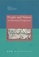 Pdf People and Nature in Historical Perspective Telecharger