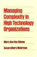 Managing Complexity in High Technology Organizations Book PDF