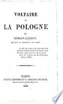 Voltaire et la Pologne
