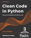Clean Code in Python   Second Edition