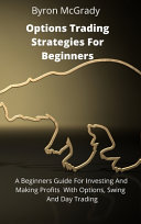 Options Trading Strategies For Beginners Book