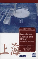 Foundation Analysis and Design