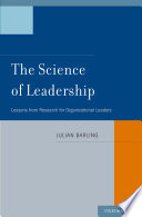 The Science Of Leadership Book