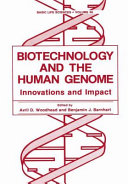 Biotechnology and the Human Genome Book