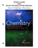 Study Guide and Selected Solutions Manual for Chemistry