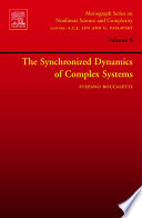 The Synchronized Dynamics Of Complex Systems Book PDF