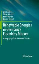 Renewable Energies in Germany   s Electricity Market Book