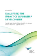 Evaluating the Impact of Leadership Development   2nd Edition