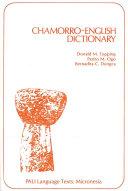 Chamorro-English Dictionary