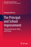 Pdf The Principal and School Improvement Telecharger