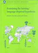 Examining the Farming language Dispersal Hypothesis