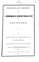 Preliminary Report of a Geological Reconnoissance of Louisiana